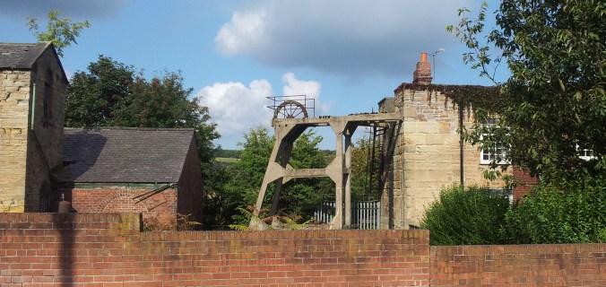 Cornish Engine House and concrete headgear