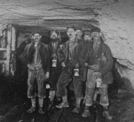 Hewers leaving work 1896