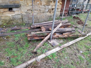 ruined timbers removed